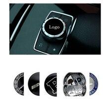Для Mercedes AMG W211 W212 W210 W203 W204 W126 W168 W169 W176 W177 W124 W108 W140 W220 Автомобильная Мультимедийная ручка стикер аксессуары
