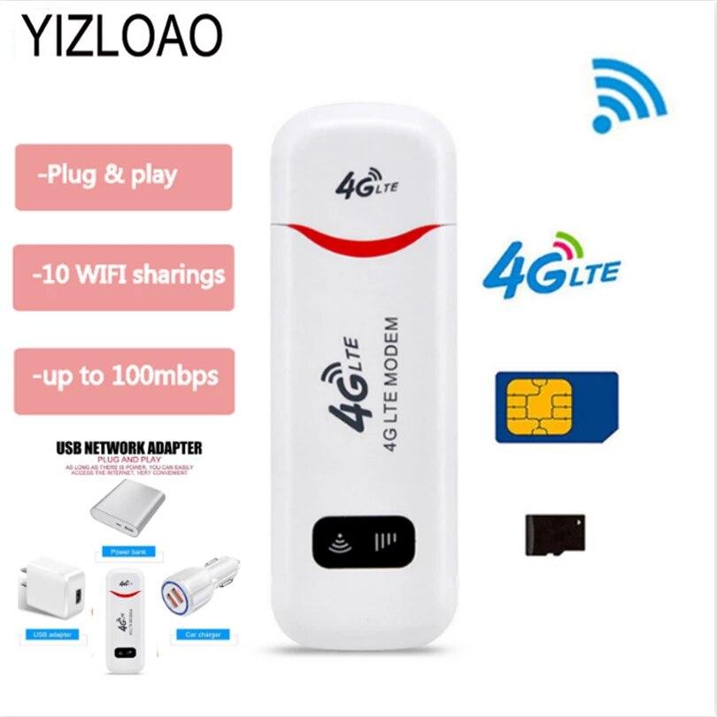 USB Modem Network-Access-Point-Stick Sim-Card-Slot Unlock Wifi 4g YIZLOAO with Universal