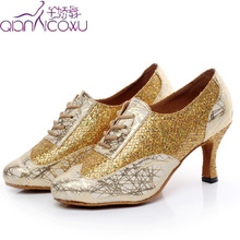 2020 Jazz Salsa Ballroom Latin Dance Shoes For Dancing Women Practice Ladies Line Tango High Heels Pumps 7061 Pumps robespiere casual women pumps quality genuine leather strange style low heels shoes concise pointed toe shallow ladies pumps a18