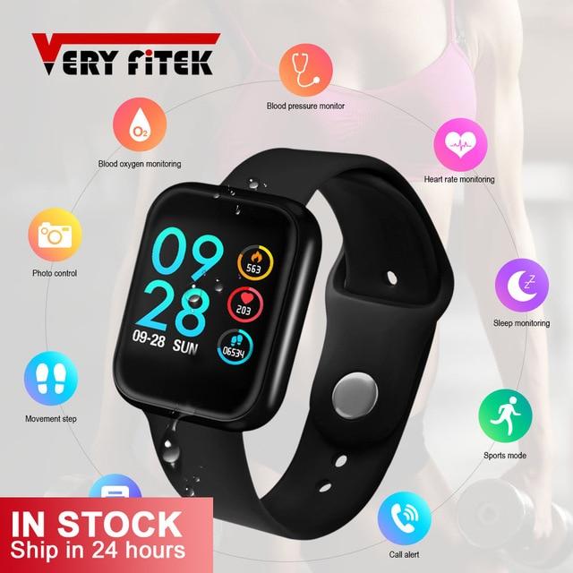 VERYFiTEK P70 חכם שעון לחץ דם קצב לב צג IP68 כושר צמיד שעון נשים גברים Smartwatch עבור IOS אנדרואיד