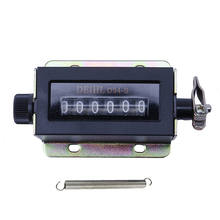 0-999999 6 Digit D94-S Resettable Mechanical Pulling Count Counter Dropshipping