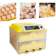 Digital Egg Incubator 96 Eggs Poultry Hatcher Machine with Fan Egg Turner LCD Display Temperature Humidity Alarm Poultry Hatcher