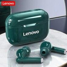 Новые беспроводные наушники Lenovo LP1, Bluetooth 5,0, двойное Стерео шумоподавление, HIFI басы, сенсорное управление, длительный режим ожидания, 300 мАч, ...