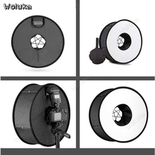 Софтбокс для камеры 45 см кольцевая световая коробка вспышка мягкая крышка портативная мини студийная коробка фото освещение для Speedlite CD50 T10