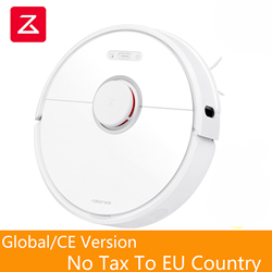 Roborock S6 Robot Vacuum Cleaner Works With Google Powerful Home Automatic Sweeping Dust Sterilize Smart Planned Washing Mopping