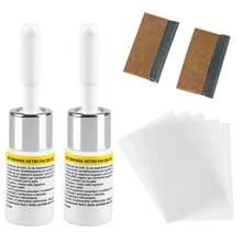 Novo kit de reparação de vidro automotivo fluido janela do carro pára-brisa vidro crack chip ferramenta reparo do carro universal lavagem manutenção