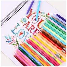 Set di penne Gel Monami 12 24 36 penne in fibra Micron Color acqua scrittura disegno schizzo cancelleria ufficio scuola forniture d'arte A6261