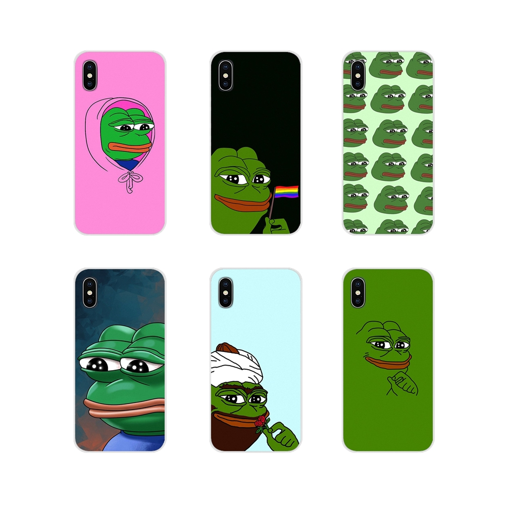 For Samsung Galaxy A3 A5 A7 A9 A8 Star A6 Plus 2018 2015 2016 2017 Accessories Phone Cases Covers Cute Cartoon Frog Meme Animal image