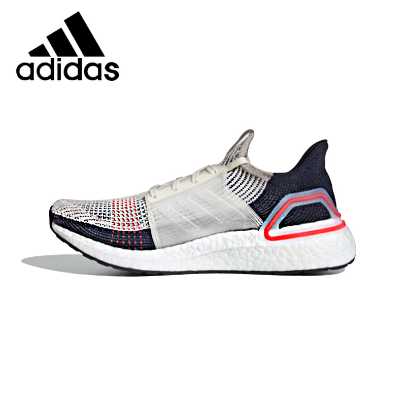 Original Adidas ULTRABOOST 19 Men's Running Shoes Outdoor Sneakers Damping Non-slippery Durable Light Cozy Top Quality B37705
