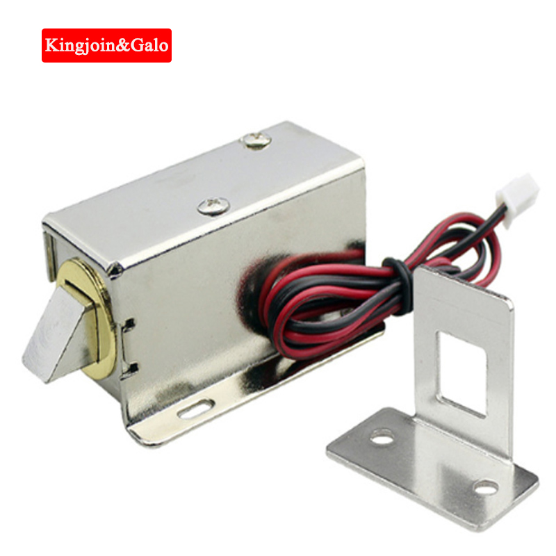 Electronic Lock Door 12V And 24V Optional Release Assembly Electromagnetic Access Control Electric Lock
