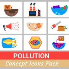 16 Pollution Concept Icons Pack - Videohive 24696421 Download