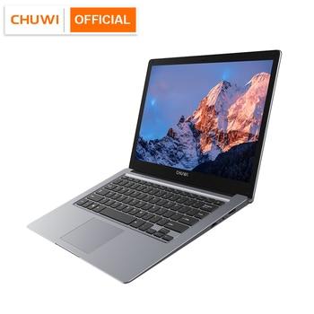 CHUWI HeroBook Pro+ 13.3 Inch IPS Screen Intel Celeron Quad Core Windows 10 OS 8GB RAM 128GB ROM Slim Laptop 2.4/5G Wifi BT5.0 1