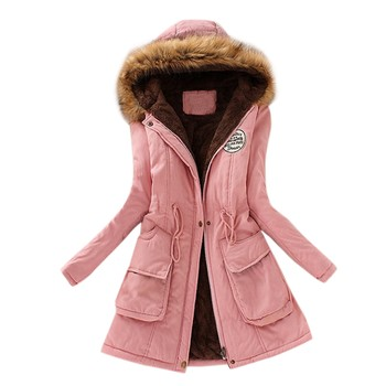 2020 Real Natural Fox Fur Collar Winter Jacket Women Down Coat Female Thick Warm Down Parka Snow Loose Hooded Coat image