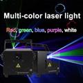 Лазерный светильник для проектора, светильник для дискотеки, светильник для сцены, музыкальный светильник, 3 Вт, RGB, анимационный лазерный св...