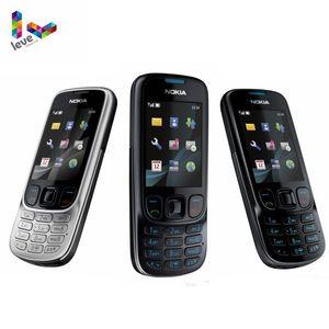 Nokia 6303 Classic 6303C FM GSM мобильный телефон с поддержкой русской клавиатуры Оригинальный разблокированный сотовый телефон Бесплатная доставка