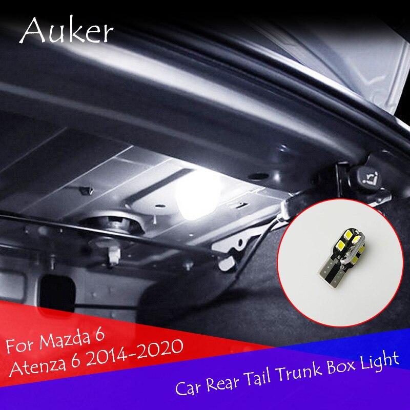 Car Styling Car Rear Tail Trunk Box Light Lamp Refit LED Light For Mazda 6 Atenza 6 2019 2020