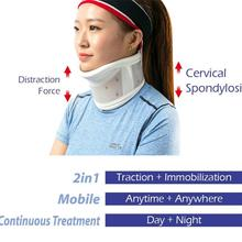 Adjustable Sponge Health Care Neck Braces Collar Dislocation Fix Cervical Pain Relief Posture Corrector Neck Supports Caring