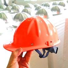 Capacete de segurança de alta resistência de pouco peso do capacete da liga de alumínio para o tampão de trabalho da mina da metalurgia ferroviária da construção