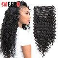 MEEPO 7 шт. волосы на заколках комплект на всю голову, на синтетические волосы 140G клип в наращивание волос прямые накладные волосы кудрявые нат...