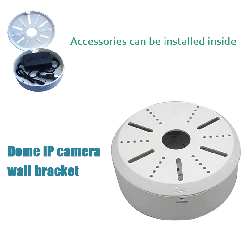 Dome IP camera wall bracket ABS plastic universal security cctv camera bracket apply Tibetan plastic box