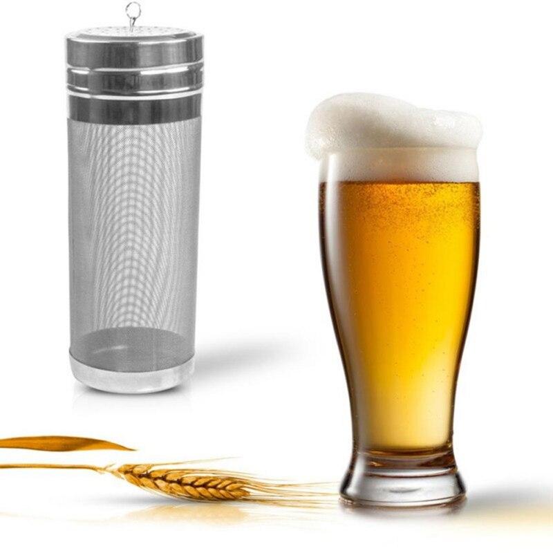 New Homemade Beer Stainless steel Hop Spider mesh filter beer strainer for craft spider