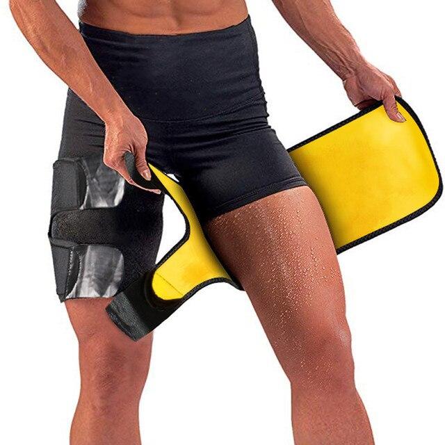 Unisex Women Men Legwarmers Sweat Thigh Trimmer Sportswear Accessories Leg Slimmer Gym Home Fitness Thigh Slimmer Legs Belt 3