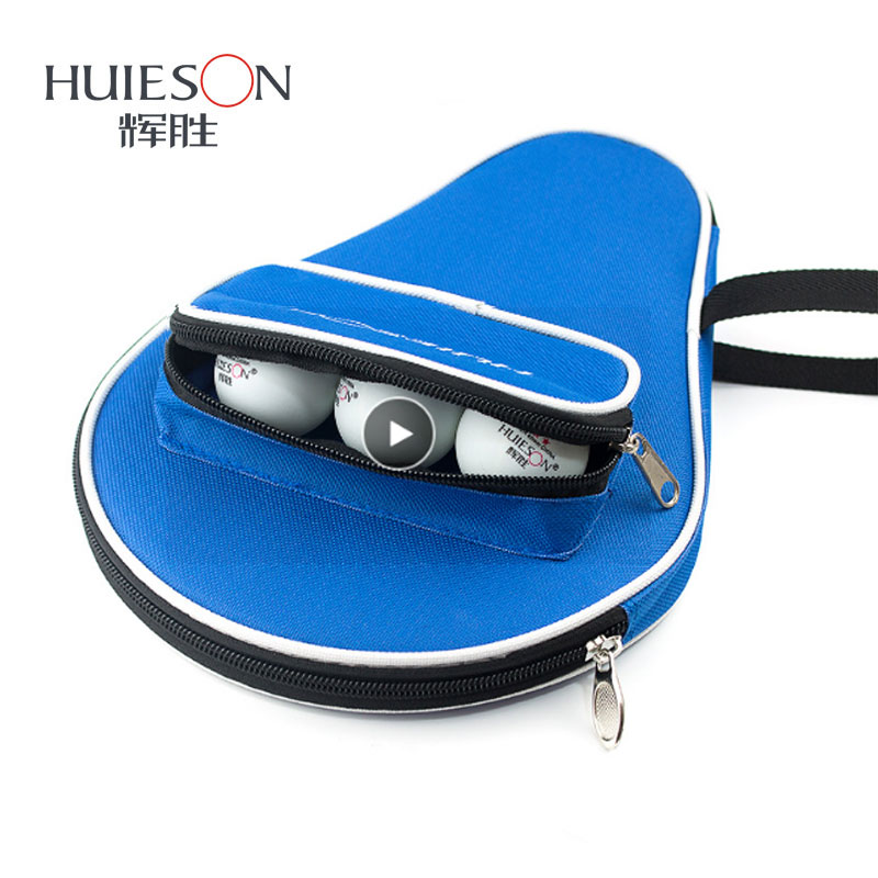 Professional Table Tennis Case For Racket Bat Paddle Bag Oxford Ping Pong Case With Balls Bag