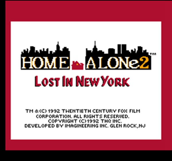 Home Alone 2  60 Pins 8Bit Game Cartridge for 8 Bit Game Console ePacket Free Shipping!