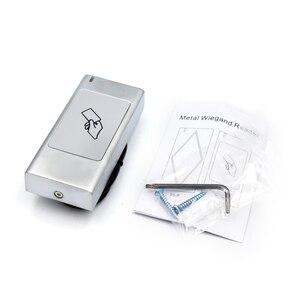 Image 3 - Bluetooth кардридер, система контроля доступа, Автономная Домашняя безопасность, Водонепроницаемый умный Home125KHZ ID 13,56 MHZ IC