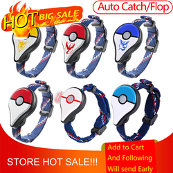 Auto Catch Flop For Pokemon Go Plus Bluetooth Wristband Bracelet Watch Game Accessories for Nintendo for Pokemon GO Plus Balls
