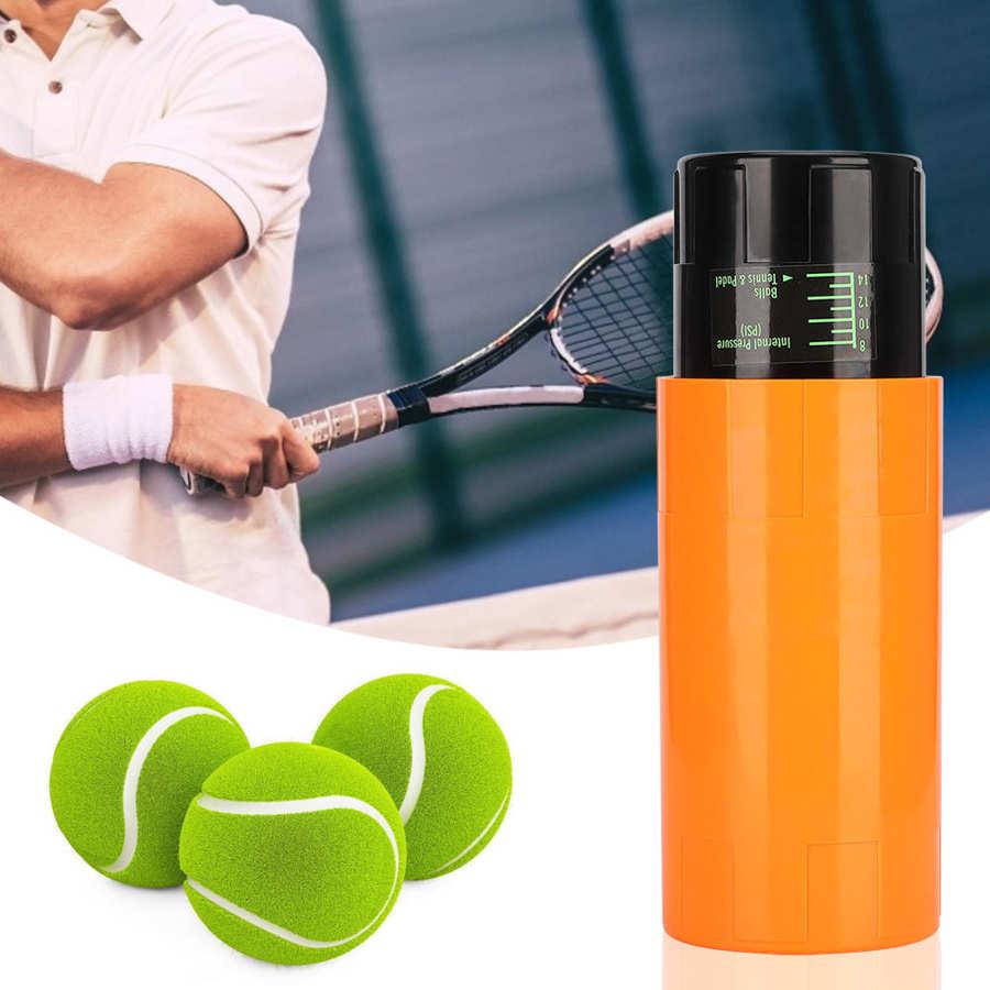 Контейнер для теннисных мячей, контейнер для хранения и поддержания давления, контейнер для банок, контейнер для хранения, спортивные аксес...