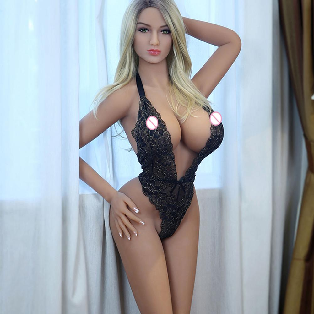 Sex Dolls Real Adult Life Big Breast Vagina Sex Toys For Men  Sexy Dolls Full Size Silicone With Skeleton Love Doll