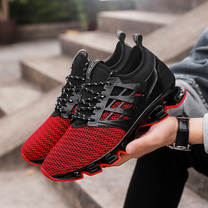Image 4 - SKRENEDS Fashion Men Running Shoes Breathable Sneakers Male CasualComfortable Jogging Shoes Sports Shoes Men