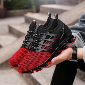Image 4 - Skreneds Mode Mannen Loopschoenen Ademend Sneakers Mannelijke Casualcomfortable Jogging Schoenen Sportschoenen Mannen