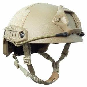 Image 3 - Tactical Bulletproof FAST Helmet NIJ Level IIIA 3A Aramid High Cut Ballistic Helmets ISO Certified Military Paintball Equipment