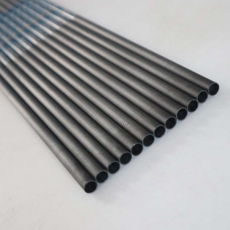 Pure Carbon Arrow Shaft 12pcs 31 inch Spine 350 / 400 / 500 / 600 / 700 / 800 ID 4.2mm Arrow Accessory For Arrow DIY-in Bow & Arrow from Sports & Entertainment    1