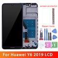 Оригинальный ЖК-дисплей для Huawei Y6 2019 ЖК-дисплей с сенсорным экраном для Huawei Y6 Prime 2019 ЖК-MRD-LX1f LX1 LX2 LX3 L21 L22 Y6 Pro 2019