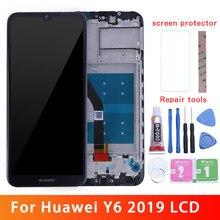Lcd original para huawei y6 2019 display lcd tela de toque para huawei y6 prime 2019 lcd MRD-LX1f lx1 lx2 lx3 l21 l22 y6 pro 2019
