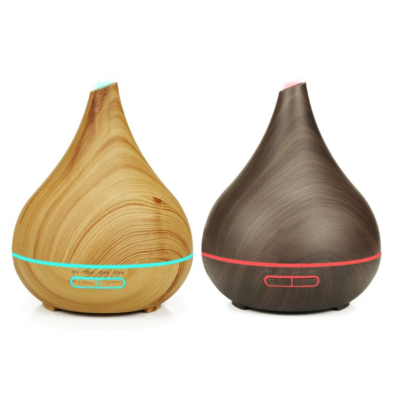500ml 7 LED Color Aroma Essential Oil Diffuser Smart Wifi Control Ultrasonic Air Humidifier Aromatherapy Home Office Use