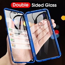 Double-sided Magnetic 360 Full Protect Case For Xiaomi Mi 9T Mi 9T Pro Tempered Glass Back Cover for Xiaomi Mi 8 9 Mi9 A2 Case(China)
