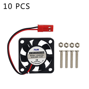 10 PCS Raspberry Pi Cooling Fa