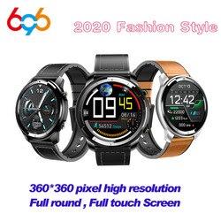 H15 Smart Watch Pria Sentuh Penuh 360*360 HD Layar Darah Ukuran Denyut Jantung Kebugaran Tracker Wireless Biaya Keramik smartwatch M3