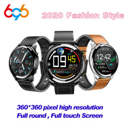 H15 relógio inteligente dos homens de toque completo 360*360 tela hd sangue medida freqüência cardíaca fitness rastreador carga sem fio cerâmica smartwatch m3