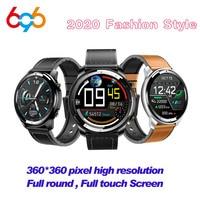 H15 relógio inteligente dos homens de toque completo 360*360 tela hd sangue medida freqüência cardíaca fitness rastreador carga sem fio cerâmica smartwatch m3|Relógios inteligentes| |  -