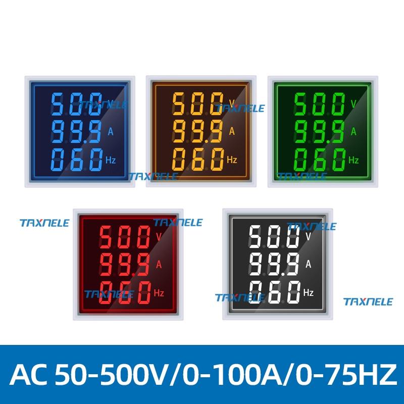 电压电流频率表