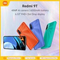 Globale Version Xiaomi Redmi 9 T 9 T 4GB 64GB / 128GB Smartphone Snapdragon 662 48MP Quad kamera 6000mAh 6.53