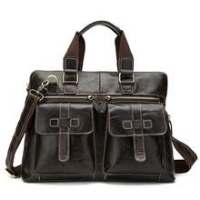 Mężczyzna teczki męskie biznes torebki marki luksusowe mężczyzn teczki torba na Laptop wysokiej jakości mężczyźni teczki torby listonoszki tanie tanio XIYUAN Prawdziwej skóry Skóra bydlęca leather Solidna torba Brak NYLON 1 1kg 28cm zipper Na co dzień Łańcuch pasek