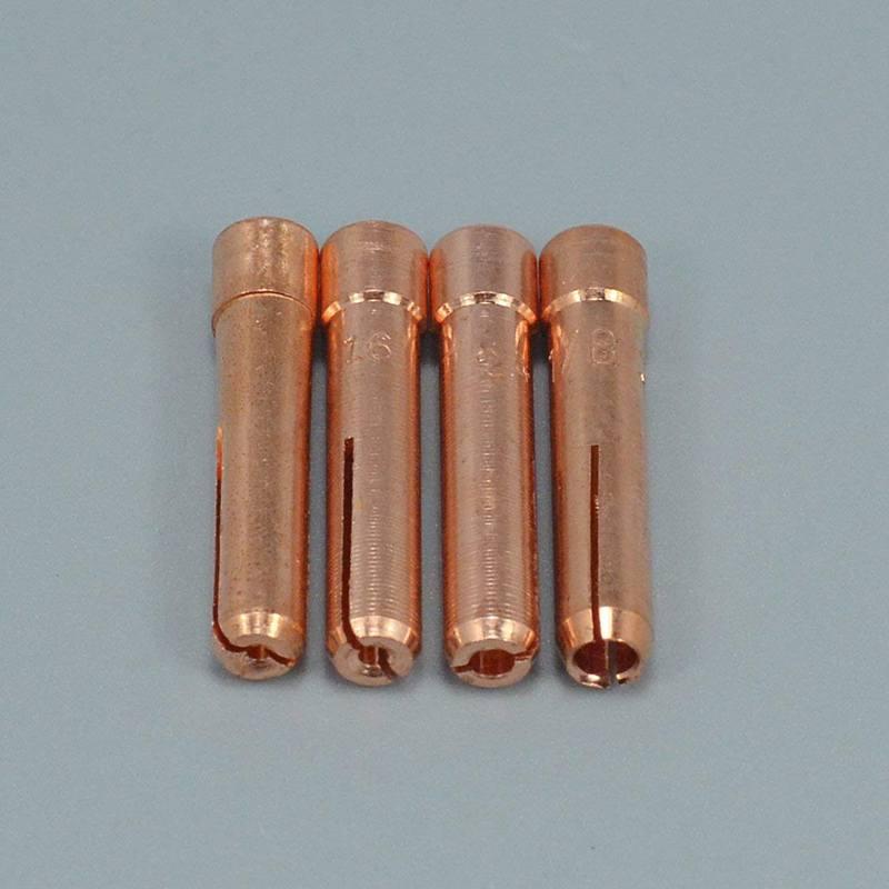 TIG Welding Torches Stubby Gas Lens Collets Alumina Nozzles Back Cap Kit For SR WP 17 18 26 Series 16pcs