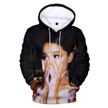 Ariana Grande 3D Hoody cotton Winter Autumn New Arrivals Fashion Western Pop Singer hoody Pullover Sweatshirt