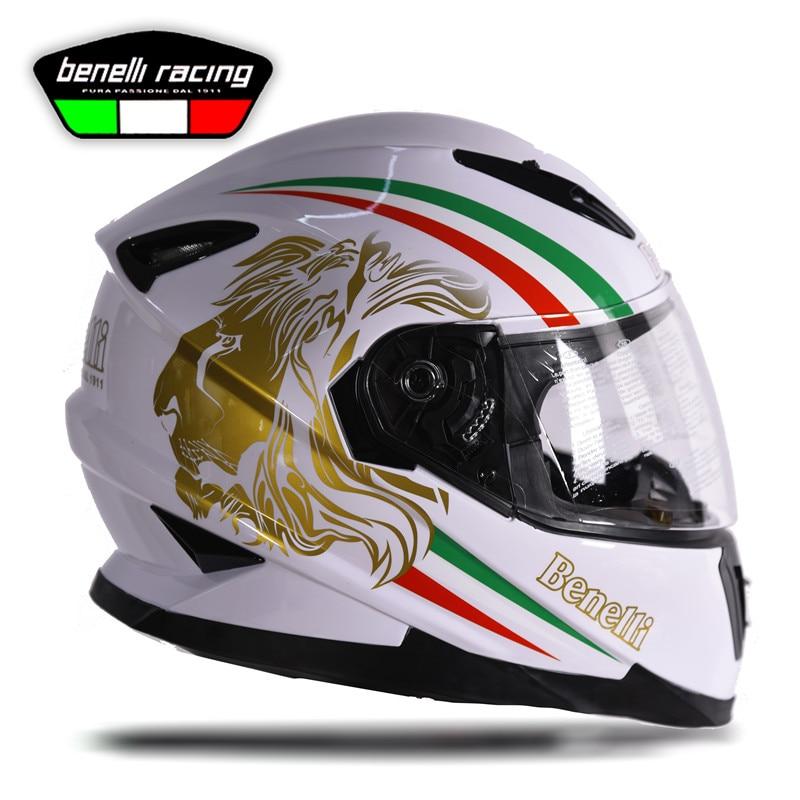 BENELLI Motorcycle Full Face Helmets Casque Casco Moto Motocross Safe Racing Capacetes Motociclistas